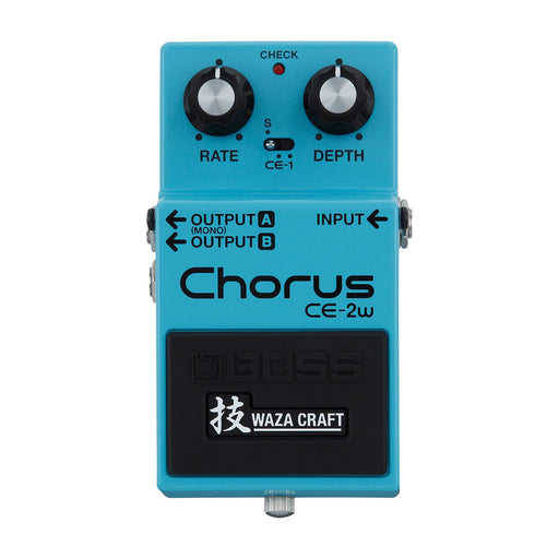 BOSS CE-2W WAZA CRAFT CHORUS PEDAL (CE2W) Chorus Device by BOSS - Gsus4