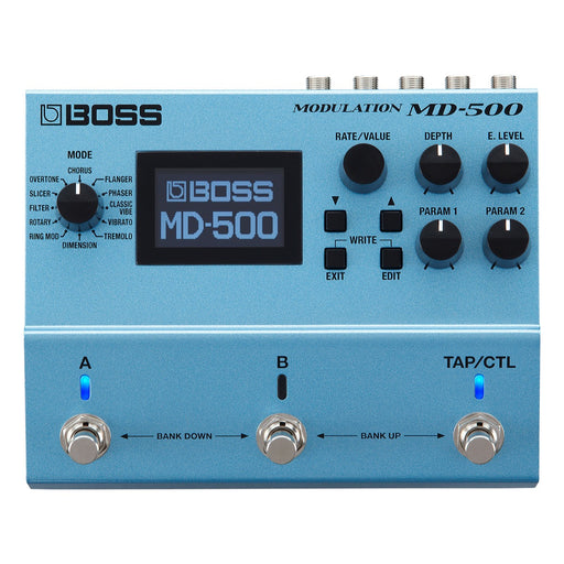 BOSS MD-500 MODULATION EFFECTS PEDAL (MD500) Modulation Device by BOSS - Gsus4