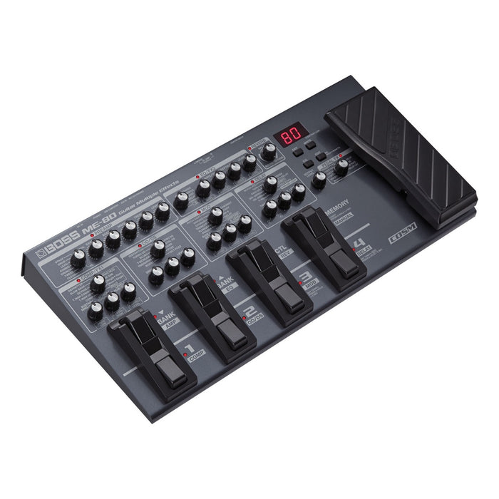 BOSS ME-80 GUITAR MULTIPLE EFFECTS (ME80) Multi Effects by BOSS - Gsus4