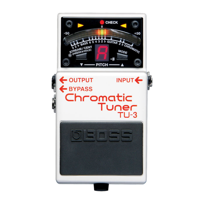 BOSS TU-3 CHROMATIC TUNER (TU3) Tuner by BOSS - Gsus4