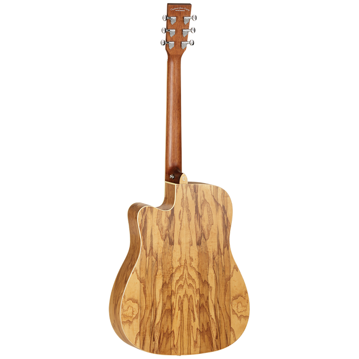 Tanglewood | TW11DCEOL | Winterleaf Dreadnought | Solid Cedar Top | Acoustic Guitar w/ Pickup - Gsus4