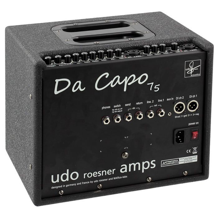 Udo Roesner Amps | DA CAPO 75 | High-End 2Ch Acoustic Amplifier