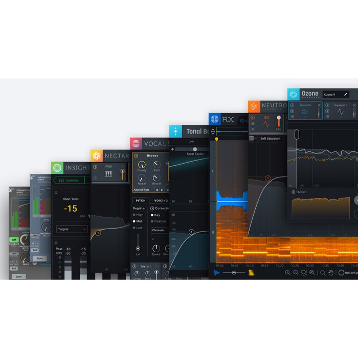 iZotope | EVERYTHING Bundle 2020 | MP Suite 4, RX PP Suite 5 & Creative Suite