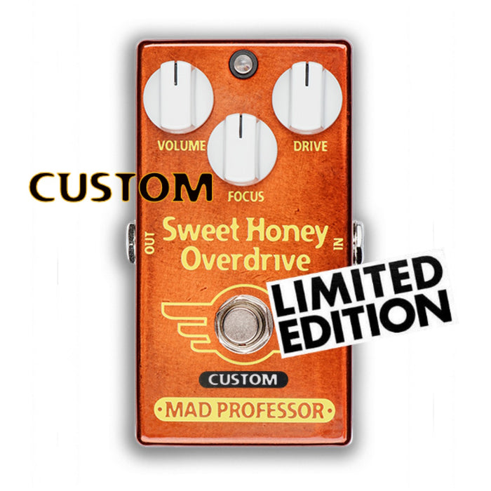 Mad Professor | SWEET HONEY OVERDRIVE | FAT BEE MOD | Limited Edition