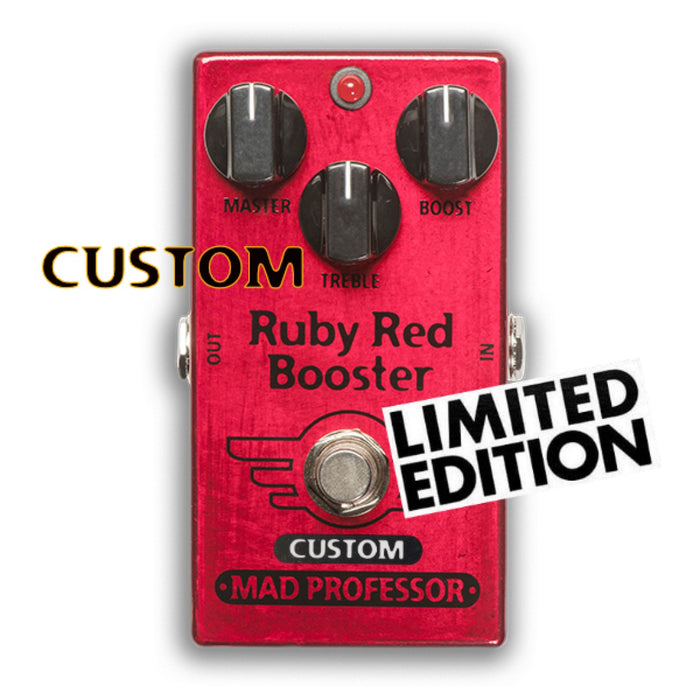 Mad Professor | RUBY RED BOOSTER | NASHVILLE MOD | Limited Editiion