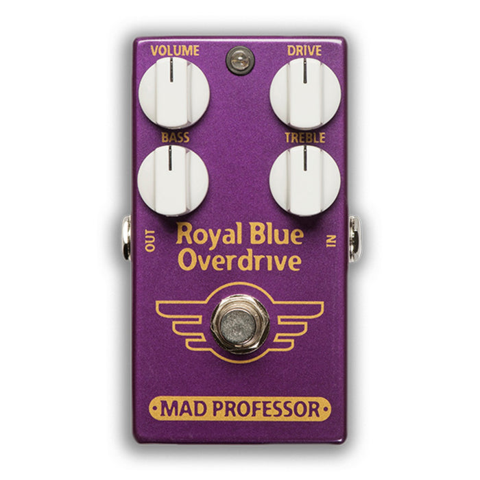 Mad Professor | ROYAL BLUE OVERDRIVE | An Extremely Touch Sensitive Overdrive