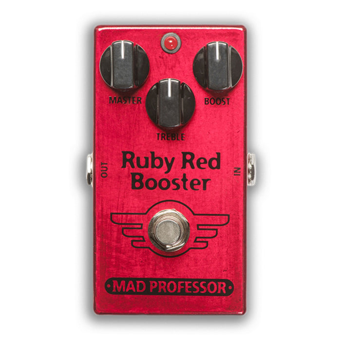 Mad Professor | RUBY RED BOOSTER | Two boosters & switchable buffer in One