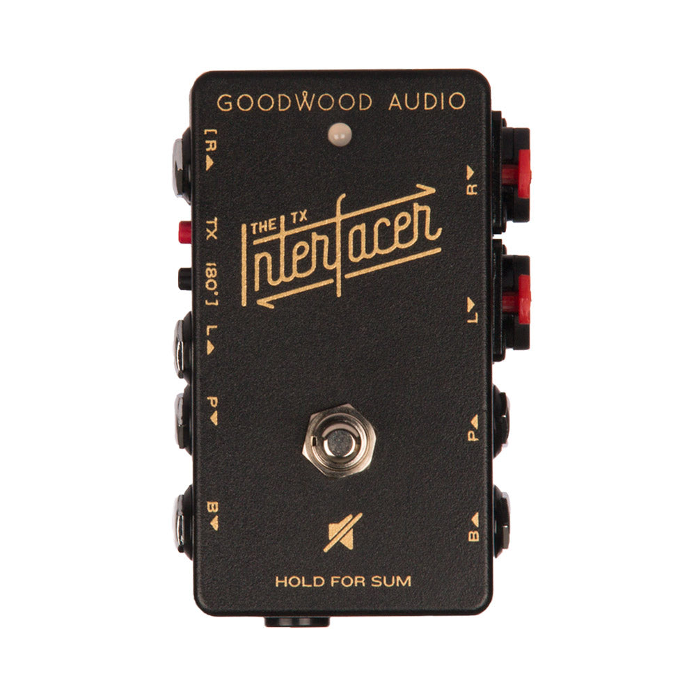 Goodwood Audio | The TX INTERfacer | Pedalboard Junction Box w/ Audio Transformer