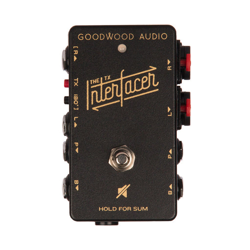 Goodwood Audio | The TX INTERfacer | Pedalboard Junction Box w/ Audio Transformer - Gsus4