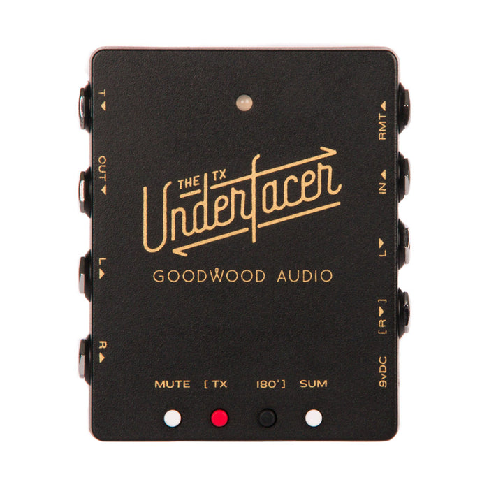 Goodwood Audio | The TX UNDERfacer | Pedalboard Junction Box w/ Audio Transformer
