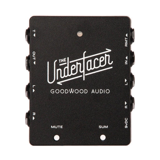 Goodwood Audio | The UNDERfacer | Junction Box Goes Under the Pedalboard