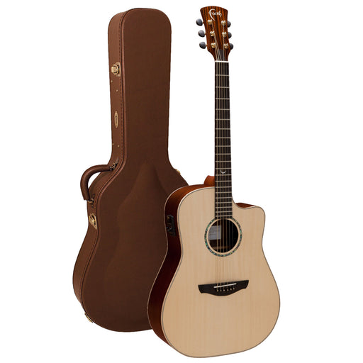 Faith Guitars | HiGloss Series SATURN | All Solid Acoustic | Fishman | Hard Case | FSCEHG