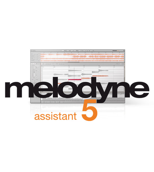 Celemony | Melodyne 5 ASSISTANT | Audio Tuning & Editing | Perpetual FULL Version