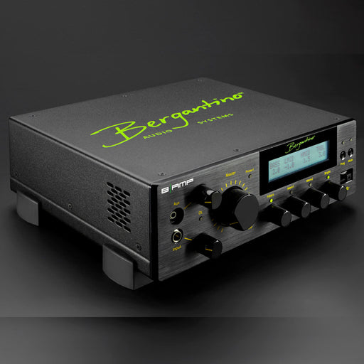 Bergantino | B|AMP | 800W Bass Amp Head | On board DSP, EQ, Compressor, Filter, Tuner & Effects