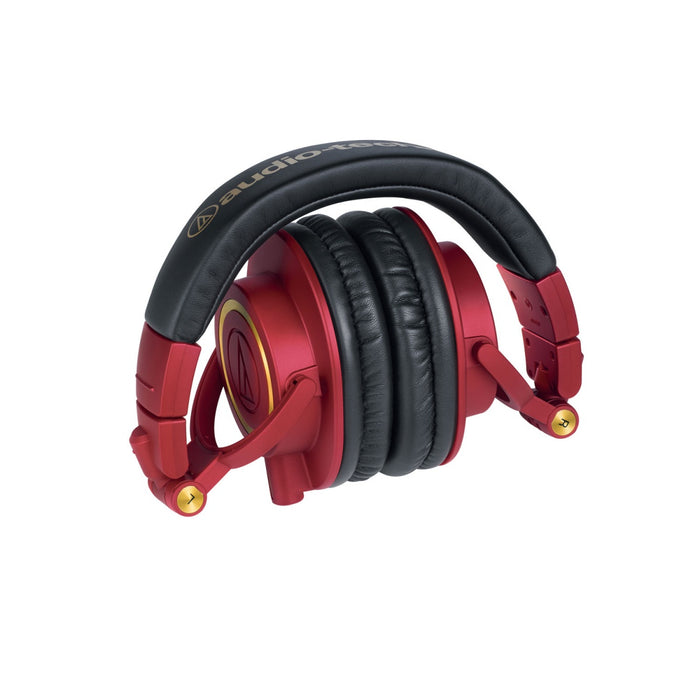 Audio Technica ATH M50XRD - Limited Edition - headphones - Full size - Red - Gsus4