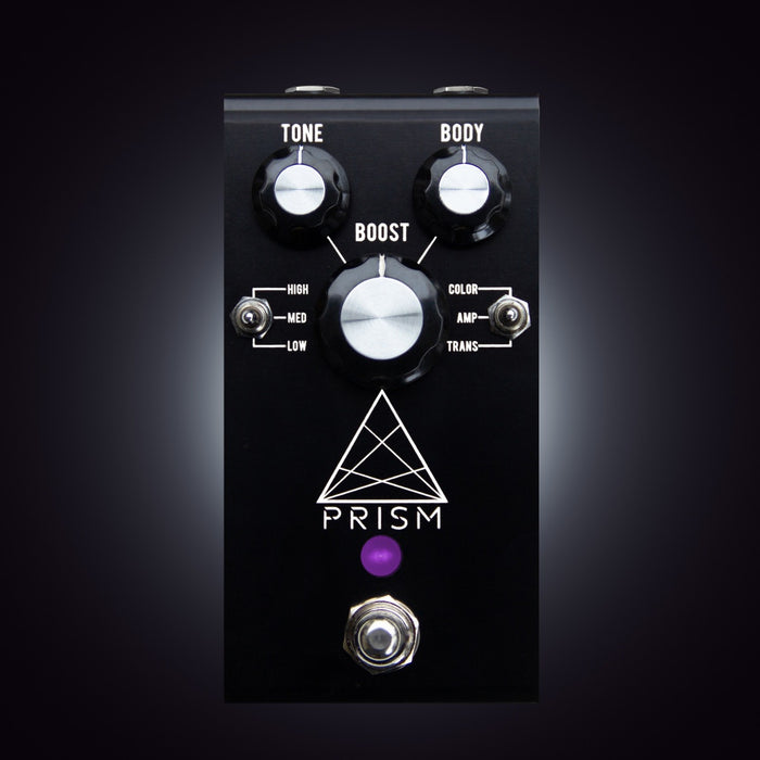 Jackson Audio | PRISM | BLACK | Preamp, Boost, EQ & Tone Sculpting