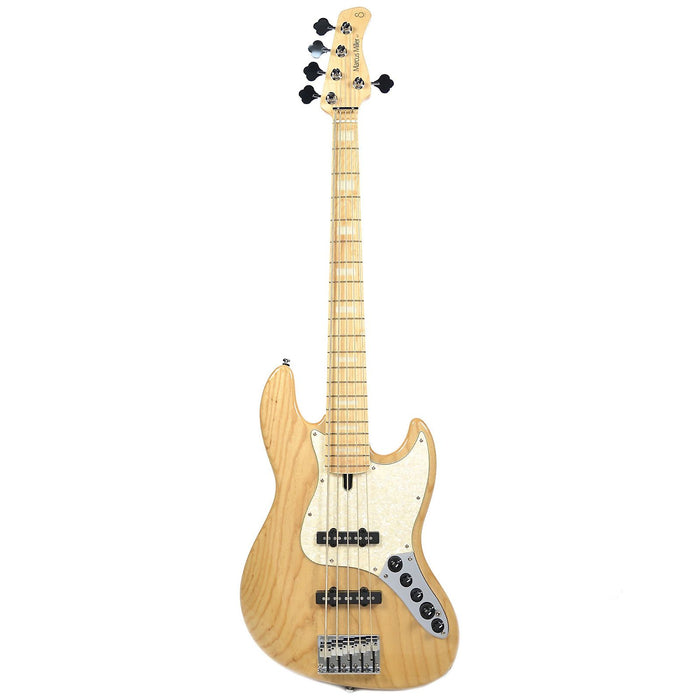 SIRE Marcus Miller | 2nd Gen | V7 NT | 5 St Bass | Swamp Ash Maple | W/ Gig Bag - Gsus4