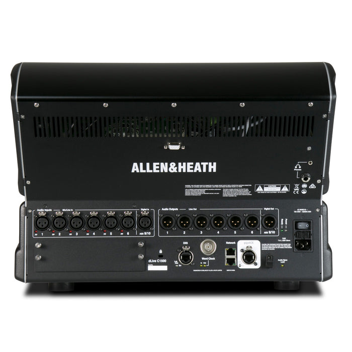 Allen & Heath | dLive C1500 | Compact & Rack-Mountable Control Surface for the dLive MixRack