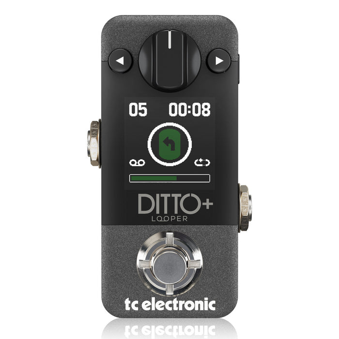 TC Electronic | Ditto+ Plus | Next Generation 60 Mins Multi-Session Looper Pedal
