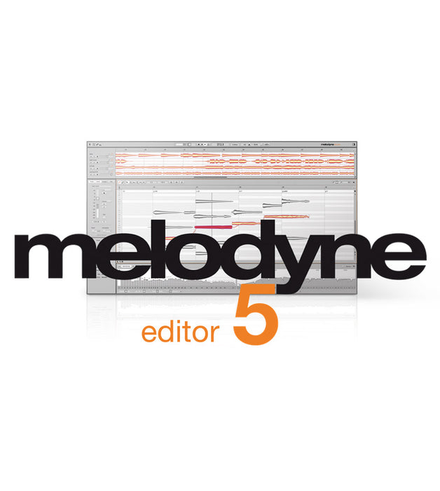 Celemony | Melodyne 5 EDITOR | Pitch, Time & Chords Correction | Perpetual FULL Version