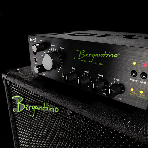 Bergantino | Forte' | 800W Bass Amp Head | On board EQ, Compressor, Filter, Tuner & Effects
