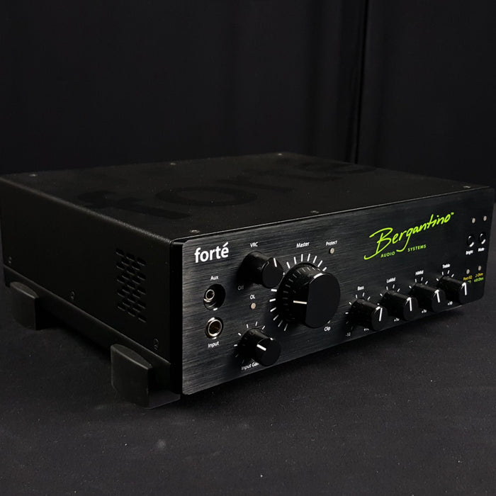 Bergantino | Forte' | 800W Bass Amp Head | On board EQ, Compressor, Filter, Tuner & Effects - Gsus4