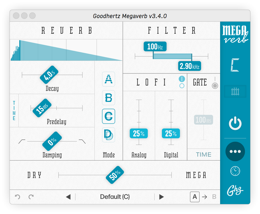 Goodhertz | MegaVerb | Incredibly Good Bad Reverb - Gsus4