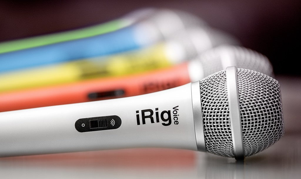 IK Multimedia | iRig Voice | Handheld Microphone | White - Gsus4
