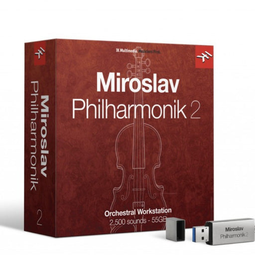 IK Multimedia | Miroslav Philharmonik 2 | The Ultimate Orchestral Workstation