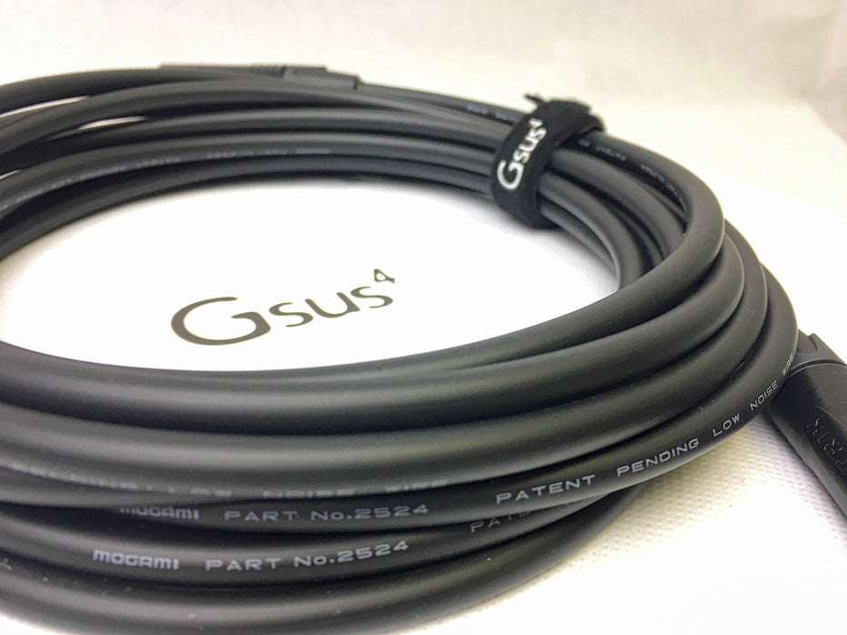 Gsus4Cable Studio Series GSI-01 Instrument (Mogami+Neutrik) Instrument Cable by Gsus4 - Gsus4