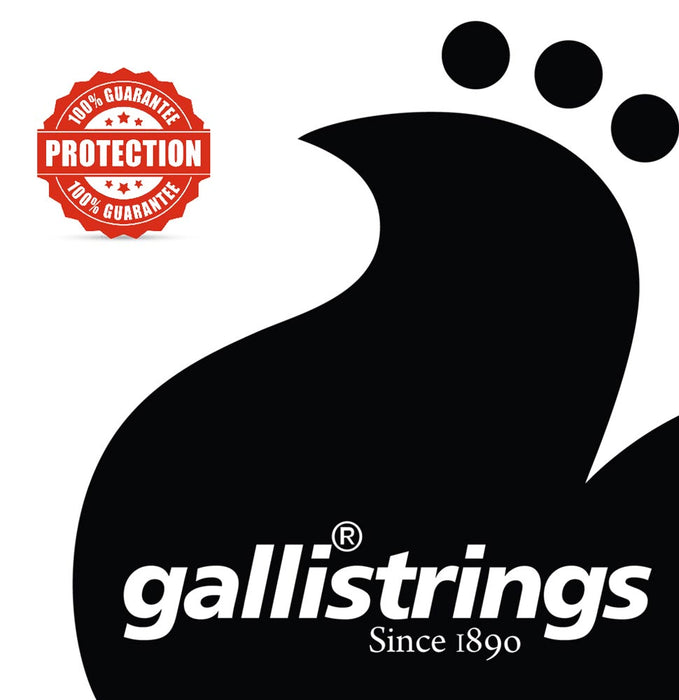 Galli RSB Nickel Plated Steel Round Wound 5 String Medium Bass Strings 45-125 - Gsus4