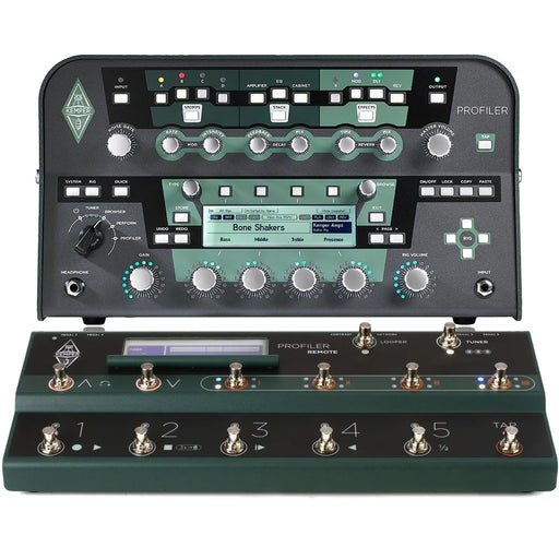 Kemper | Head & Remote Bundle | Profiling Amp Head | Black or White