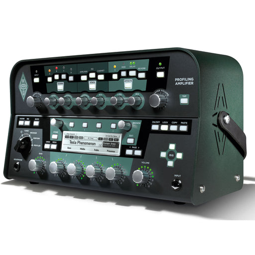 Kemper | Profiler Head | Profiling Amp Head | Black