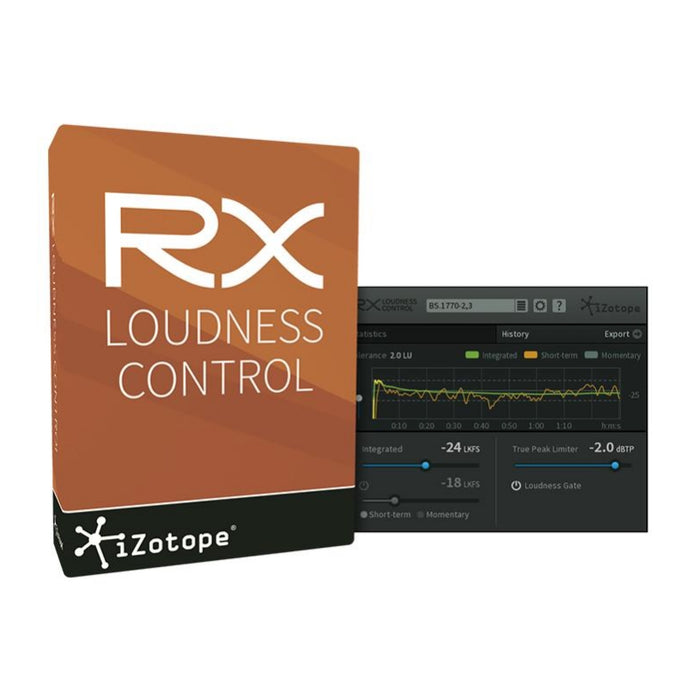 iZotope | EDU | RX Loudness Control | Automatic Global Loudness Correction - Gsus4