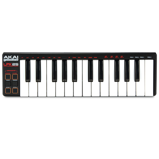 Akai LPK25 Portable MIDI Keyboard 25 Key - Gsus4