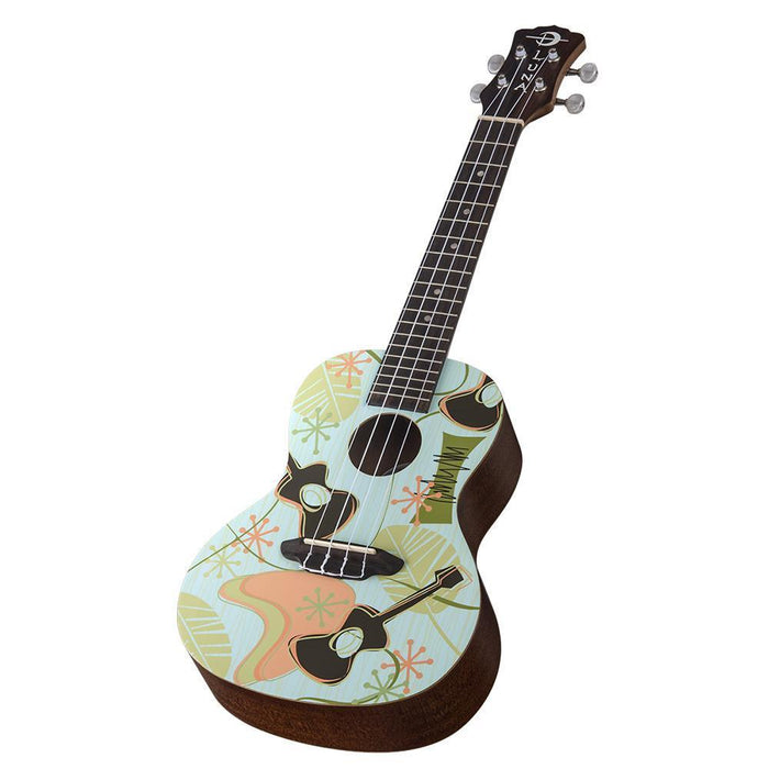 Luna Daddy O Concert Ukulele with Gig Bag