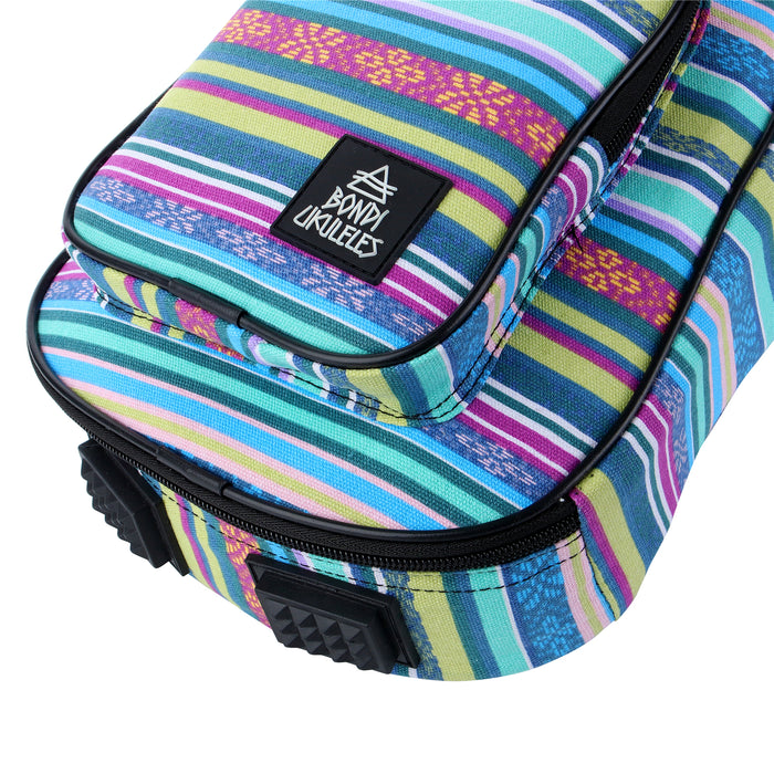 Bondi Movima Tribal Ukulele Gig Bag - Soprano Size - Gsus4