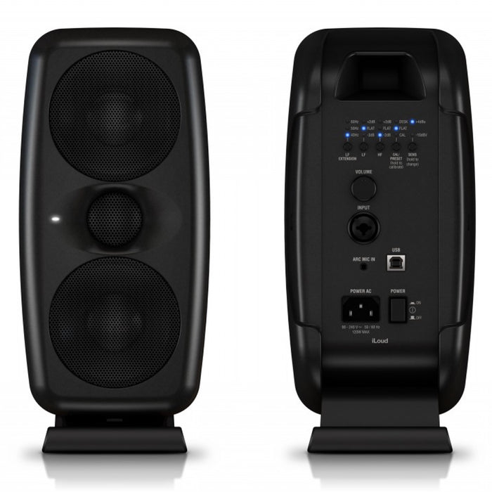 IK Multimedia | iLoud MTM Monitors | Compact Hi-Res Monitors | w/ ARC Microphone