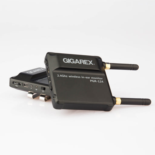 Gigarex PGT-124 Wireless In-Ear Monitoring System (Transmitter & Receiver) In-Ear Monitor by Gigarex - Gsus4