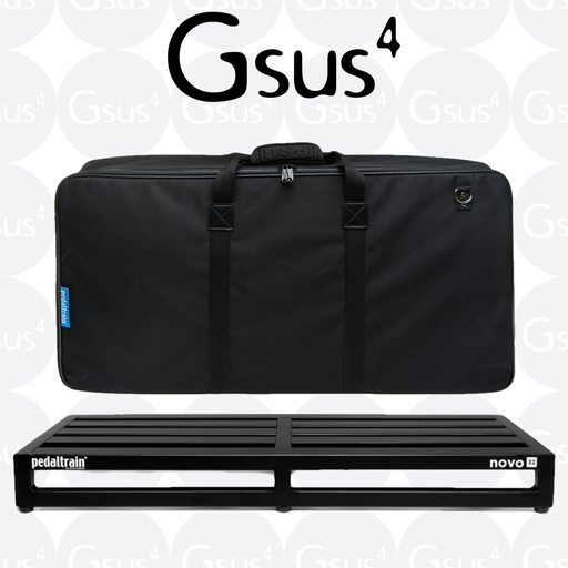 Pedaltrain Novo 32 w/ Heavy Duty Soft Case or Tour Case Pedalboard by Pedaltrain - Gsus4