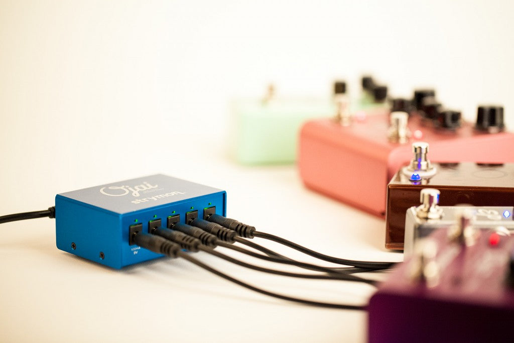 Strymon Ojai - High Current, 5-Output DC Power Distribution Power Unit by Strymon - Gsus4
