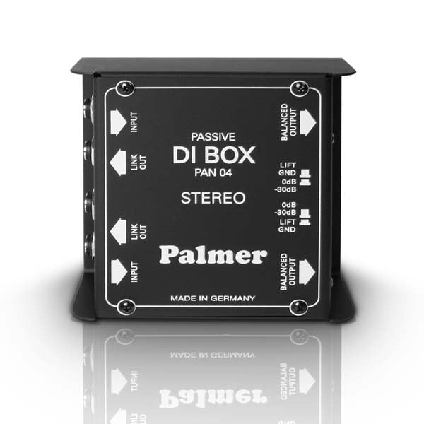 Palmer Audio | PAN04 | 2 Channel Passive DI Box
