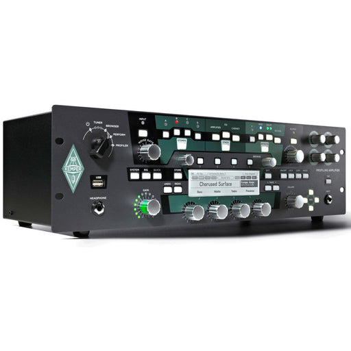 Kemper | Profiler Rack & Remote Bundle | Rackmount Profiling Amp Head