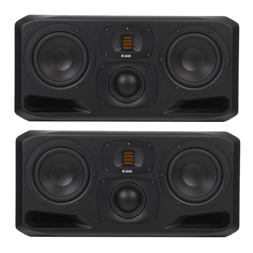 "ADAM Audio - S3H - S SERIES 3-Way 2x7"", 4"" Mid Dome, S-ART Tweeter w/ DSP Studio Near Midfield Monitors (Pair)"