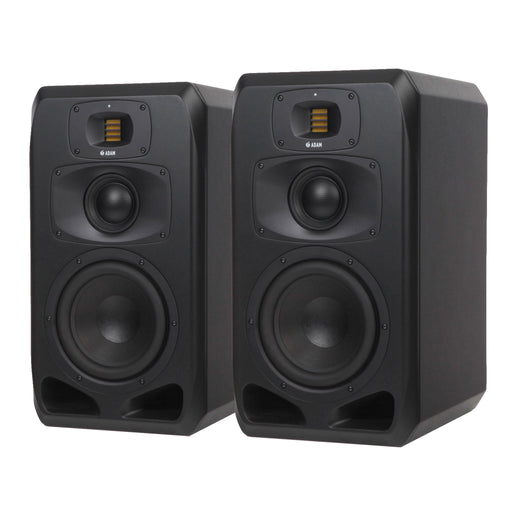 "ADAM Audio - S3V - S SERIES 3-Way 9"", 4"" Mid Dome, S-ART Tweeter w/ DSP Studio Near Midfield Monitors (Pair)"