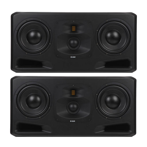 "ADAM Audio - S5H - S SERIES 3-Way 2x10"", 4"" Mid Dome, S-ART Tweeter w/ DSP Main Studio Monitors (Pair)"