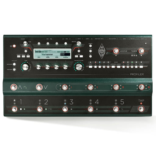 Kemper | Profiler STAGE | The Profiler w/ Integrated Remote-Grade Switching System