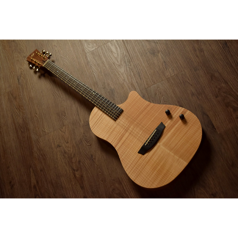 Healer Acoustic Custom Chamber Guitar HAC-2 NA Acoustic Guitar by Healer - Gsus4