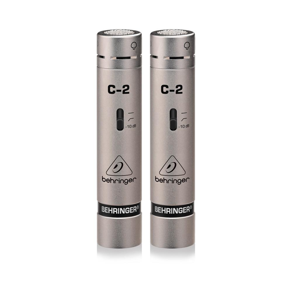 Behringer C-2 Matched Studio Condenser Microphones (Set of 2)