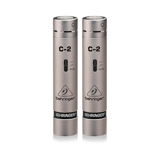 Behringer C-2 Matched Studio Condenser Microphones (Set of 2) - Gsus4